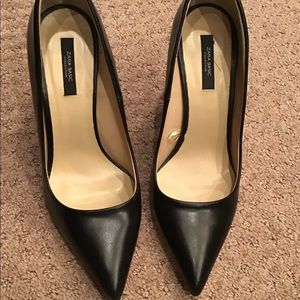 Zara leather pumps NWT SIZE 39